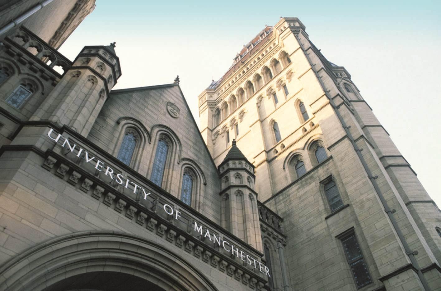 Resultado de imagen de universidad de manchester